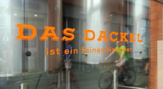 Das Dackel - Ansicht der Schaufenster