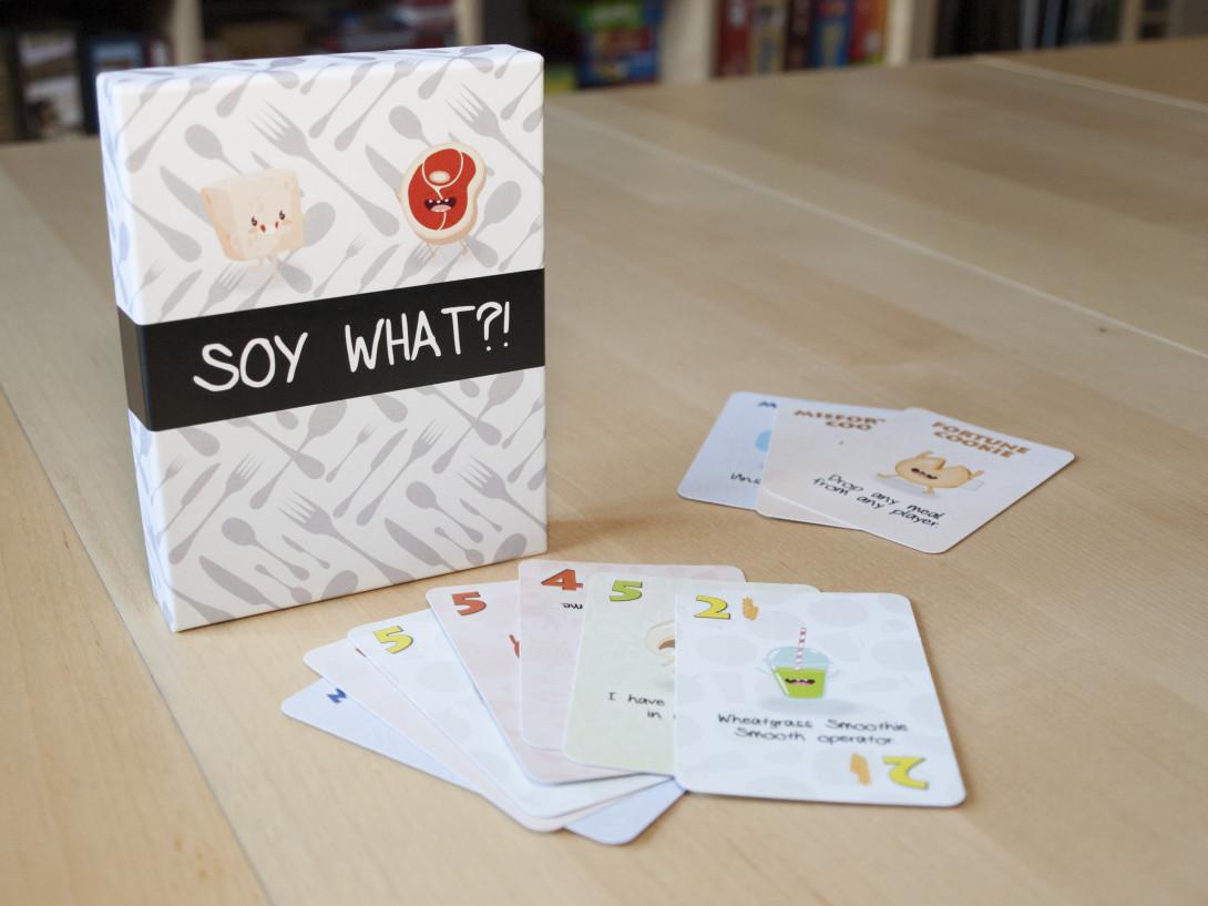 Soy What?! Box und Kartenauswahl